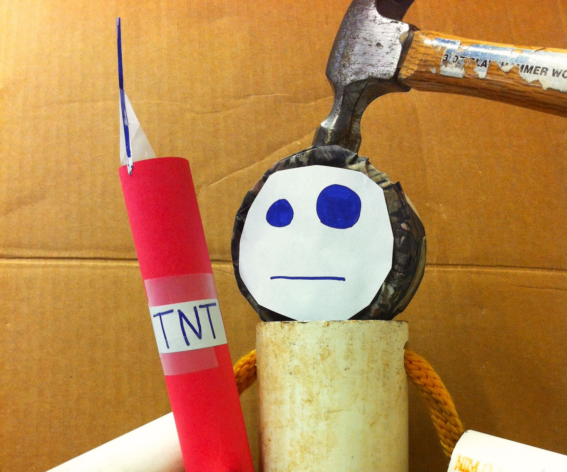 pvc crash test dummy