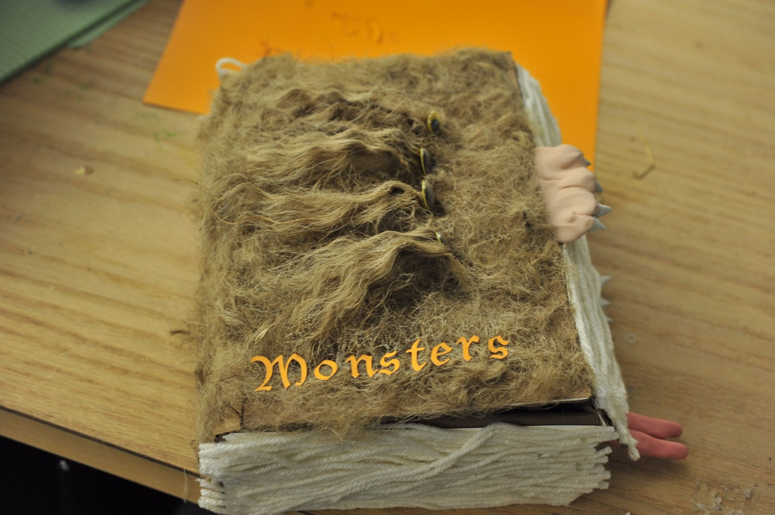 Giving Your Book Monster a Name