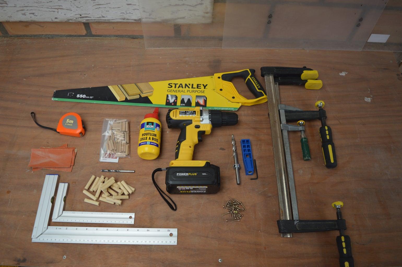 Gathering Tools and Materials