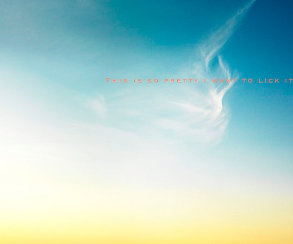 Cloud Mine: Digital Sky Captures to CNC Knitting - Part 1 (Inspiration)