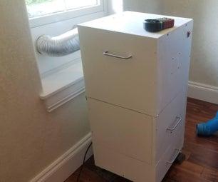 激光切割机空气排气和烟雾过滤系统