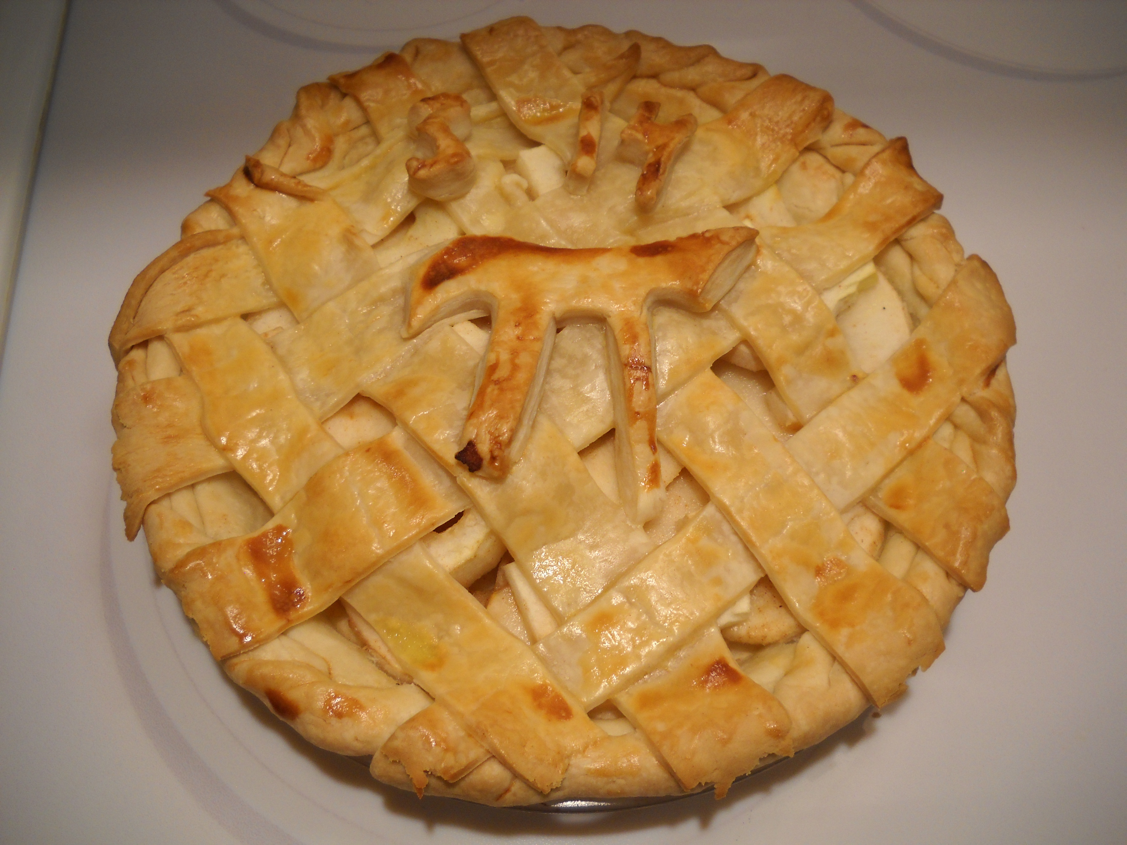 Apple pi pie