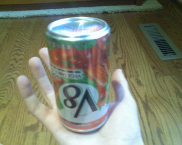 Holding the Can