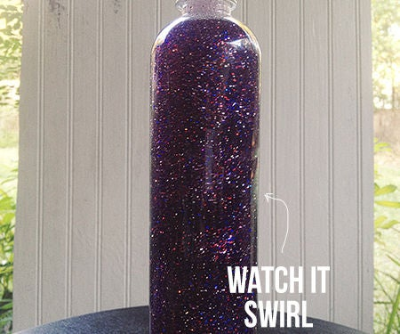 Galaxy Bottle **WITH GLITTER**