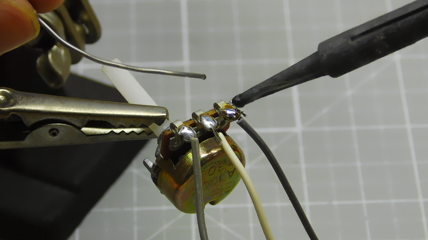 Solder the PWM Circuit and Connect the Switches