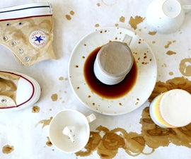 Natural Dying With Tea & Coffee