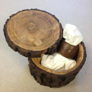 Beautiful Wood Ring and Box