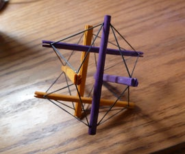 Tensegrity Tensecoration Decoration