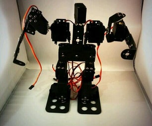 The Installation Steps of Small Exquisite 9DOF Race Walking Humanoid Dance Robot