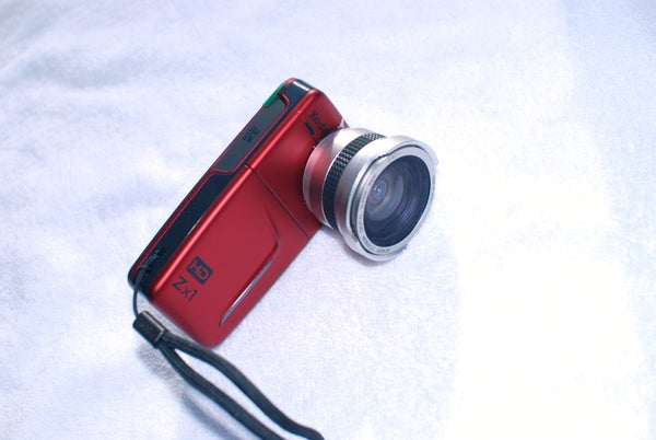 How to Convert Your Pocket Camcorder to Wide Angle