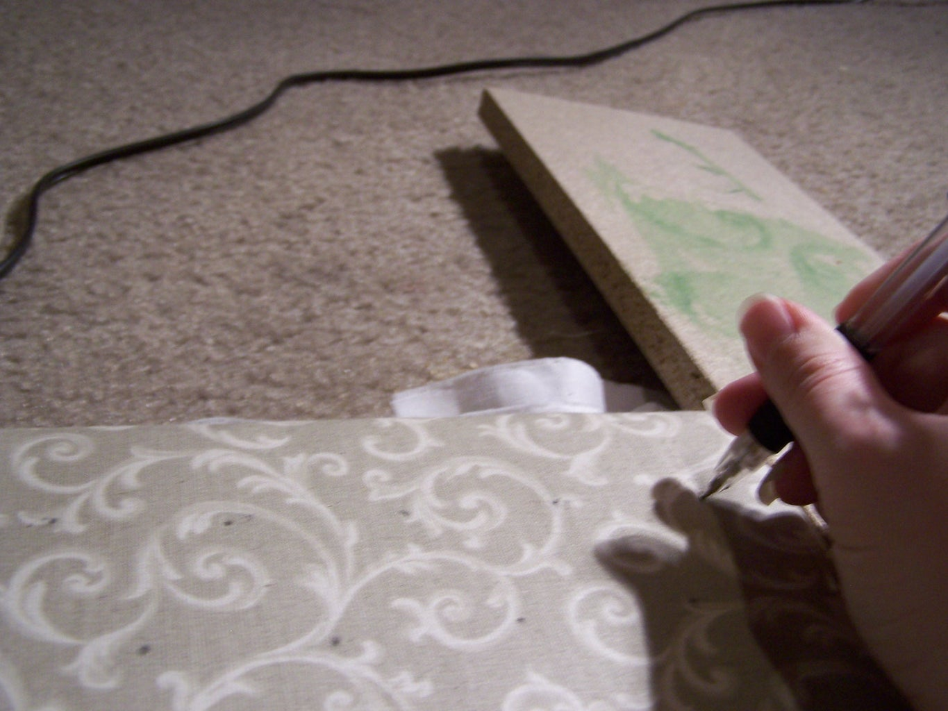 Upholstering and Marking Your Fabric