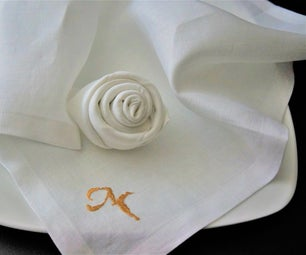 Mother's Day Blooming Napkins