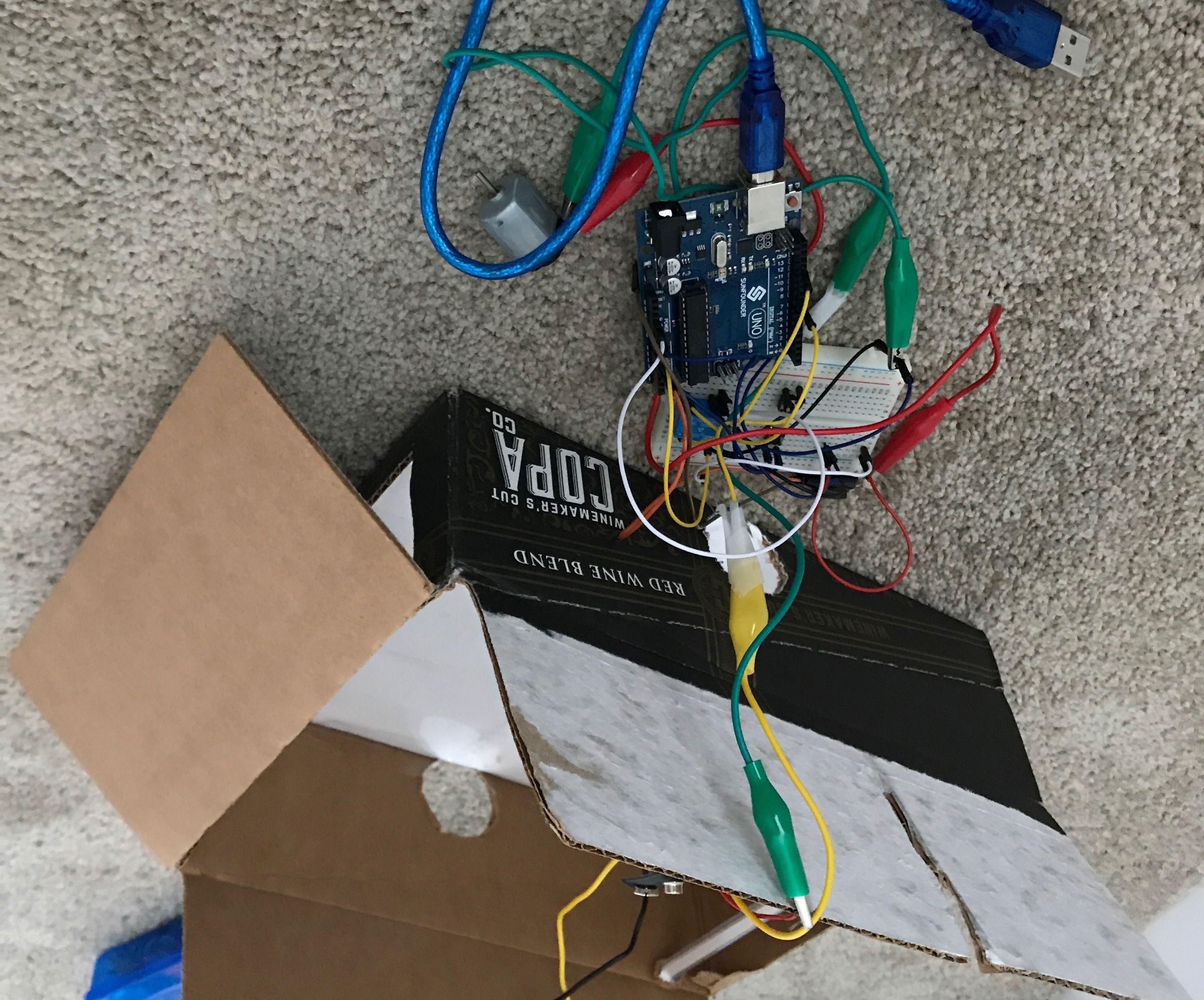 Arduino Scanbot