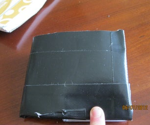 How to Make a Duct Tape Wallet With LOTS of Space