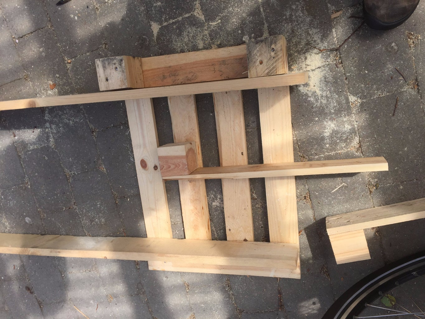 Cut Up a Small Pallet