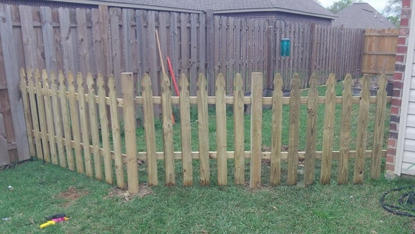 Building a Semi-Permanent Fence
