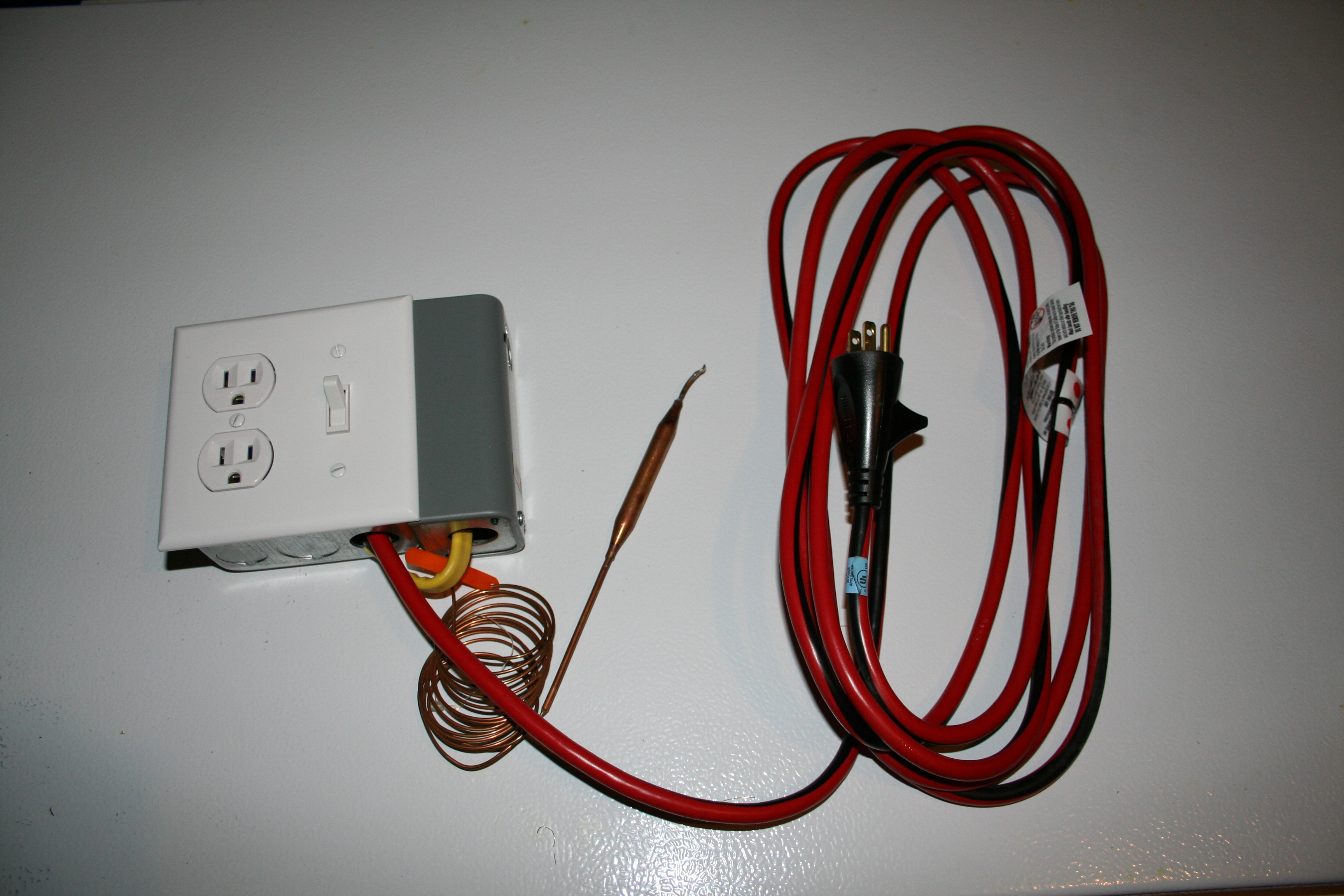 Temperature Control For Freezer or Refrigerator
