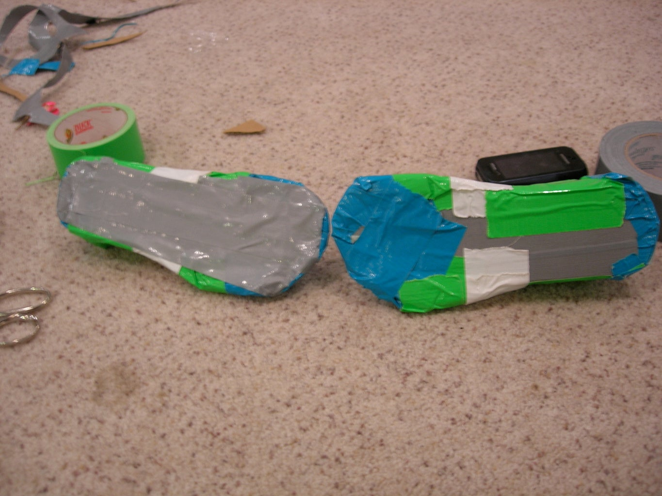 Put More Duct Tape on the Sole