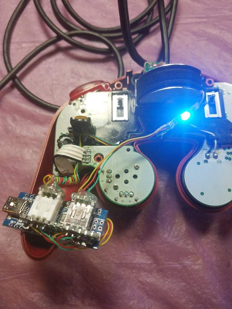 Upload, Attach the Arduino, Test the LED