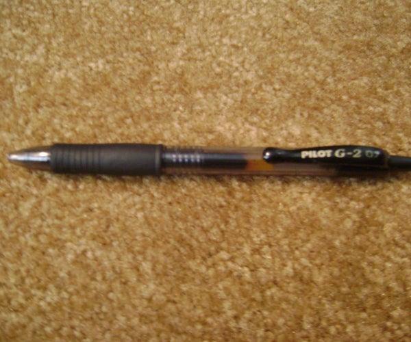 How to Make a Pen Gun