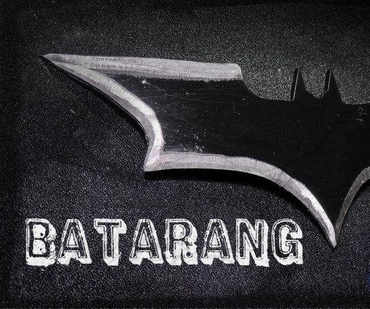 "How to Make a Batarang From "" the Dark Knight """