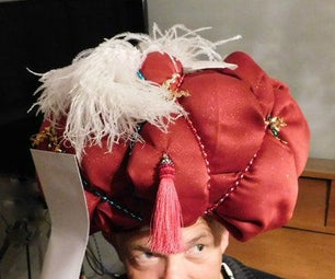 The Great Carnac!   (hat-making Tutorial & Video of Skit)