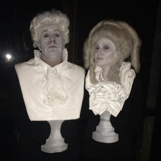 Composer Bust Statue Costumes
