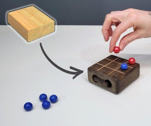 Tic Tac Toe ( Made With a 2x4 )