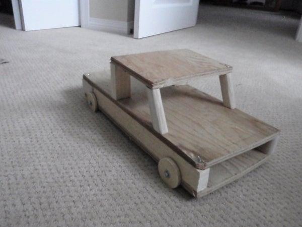 DIY Kids Toy Truck