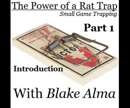 Small Game Trapping: Part 1