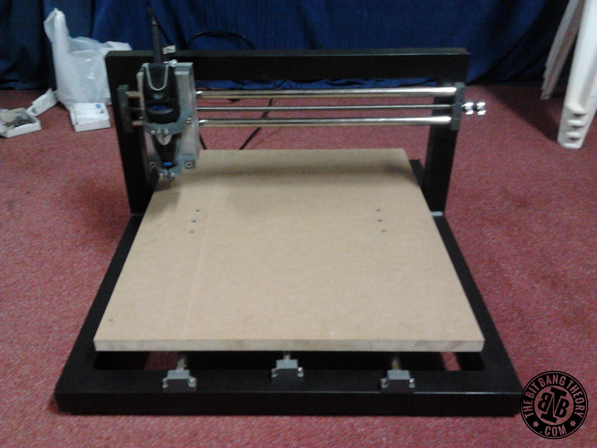 TheMaker2 Homemade CNC