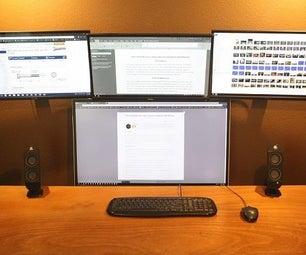 Non-VESA Monitors and Computer Hardware Wall Mounts