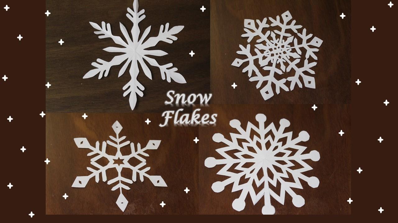 #DIY Paper #Snowflakes