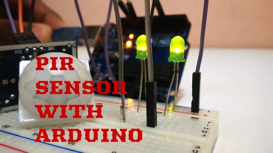 PIR Motion Detector With Arduino (simple and Easy Demostration)
