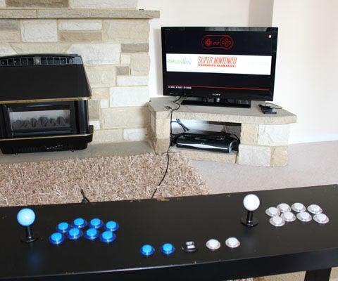Retropie Ikea Arcade Table