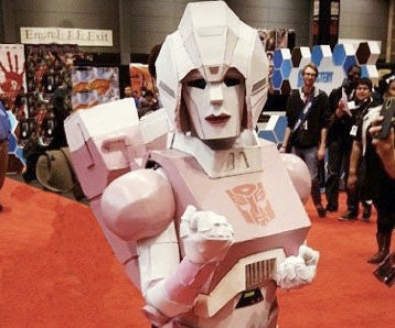 "How to Make a Transformers: ""Arcee"" Costume"