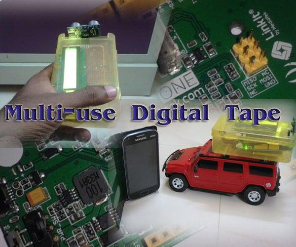 BT Portable Multi-use Tape Using Linkit One