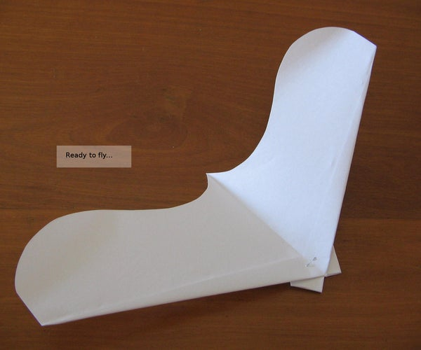 CanardWings - a Variation of Paperang, a Cool Paperplane/glider
