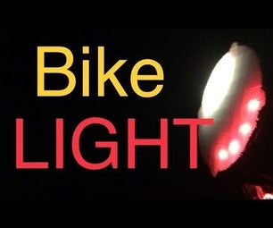 Stay Safe Using This Bikelight With Turn Signals