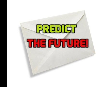 how to do a really crazy prediction magic trick