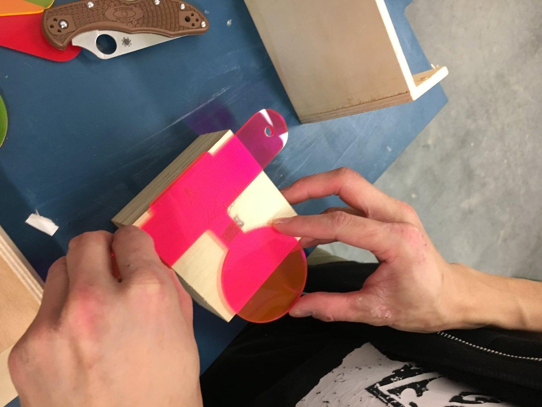 Bending the Acrylic