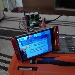 Rasberry Pi Zero W With Arduino TfT (ili9341)