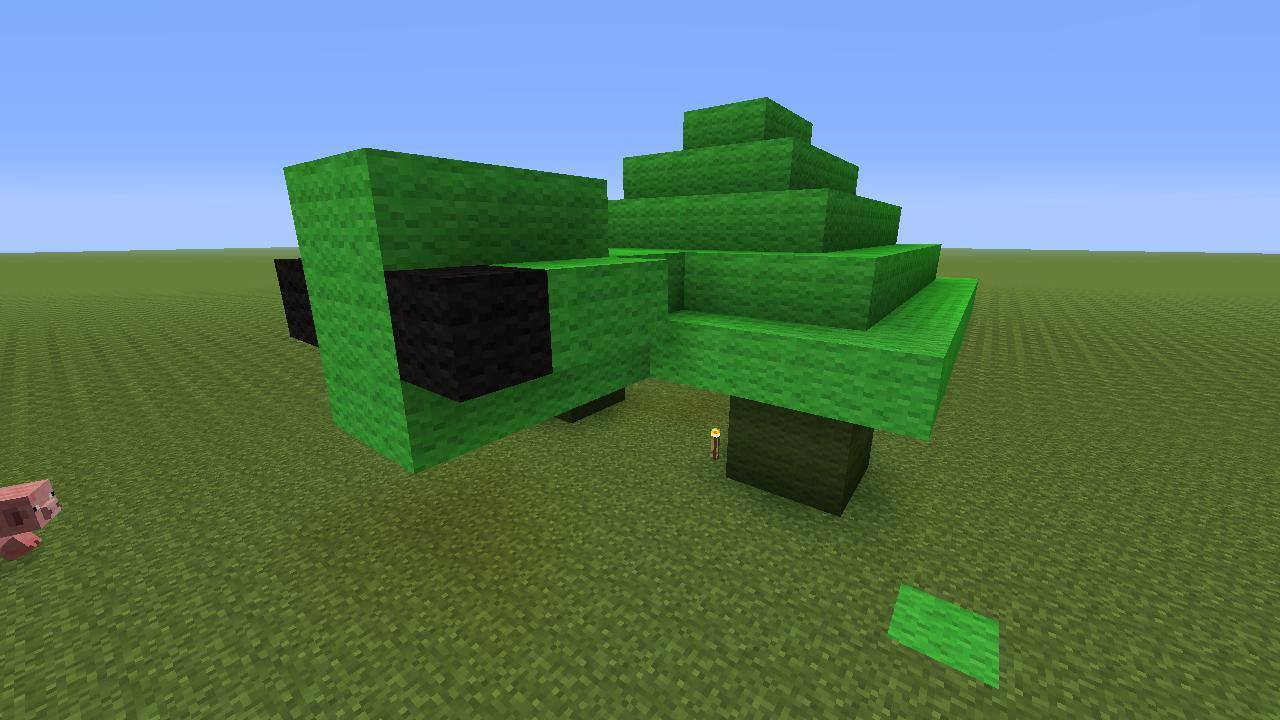 How to Make a Turtle in Minecraft