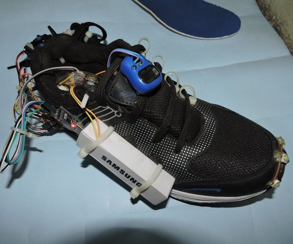 Smart Shoes (Auto-lacing and Generating Electricity)