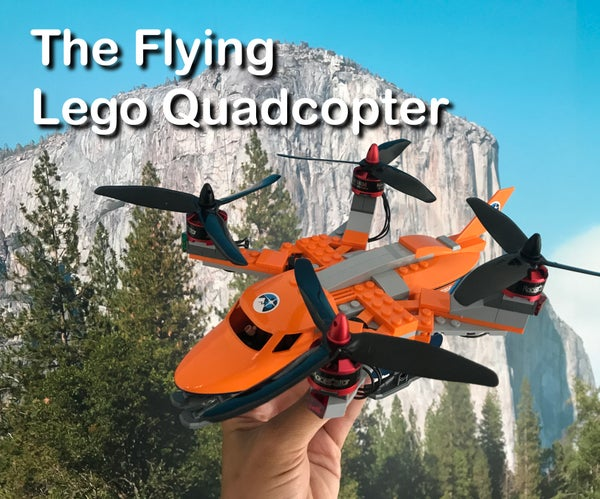 Flying Lego Quadcopter
