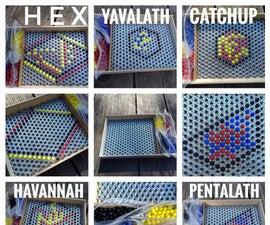 六角抽象策略游戏系统