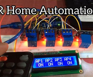 IR Home Automation Using Relay
