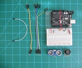Comparing LV-MaxSonar-EZ and HC-SR04 Sonar Range Finders With Arduino