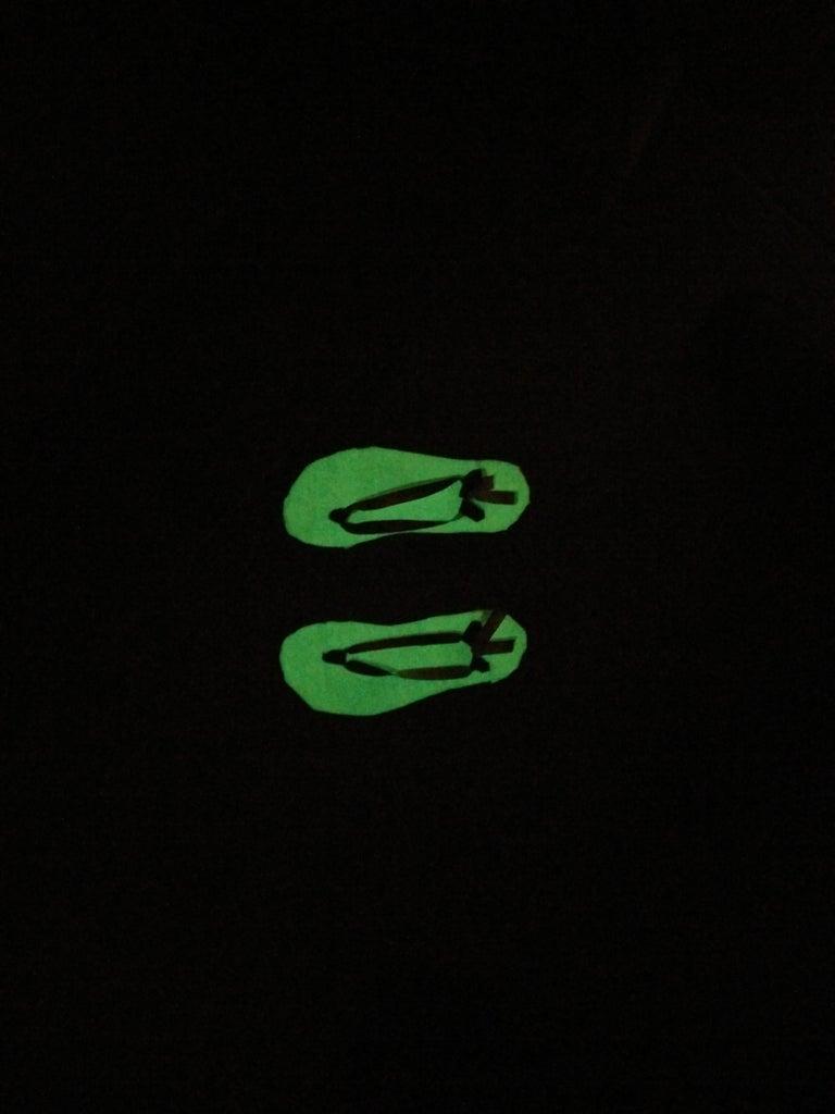 Glow-in-the-dark Sandals
