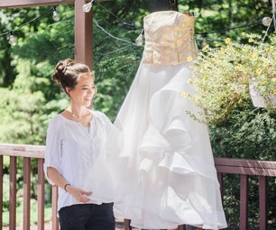 Making a Wedding Dress (designing and Sewing)